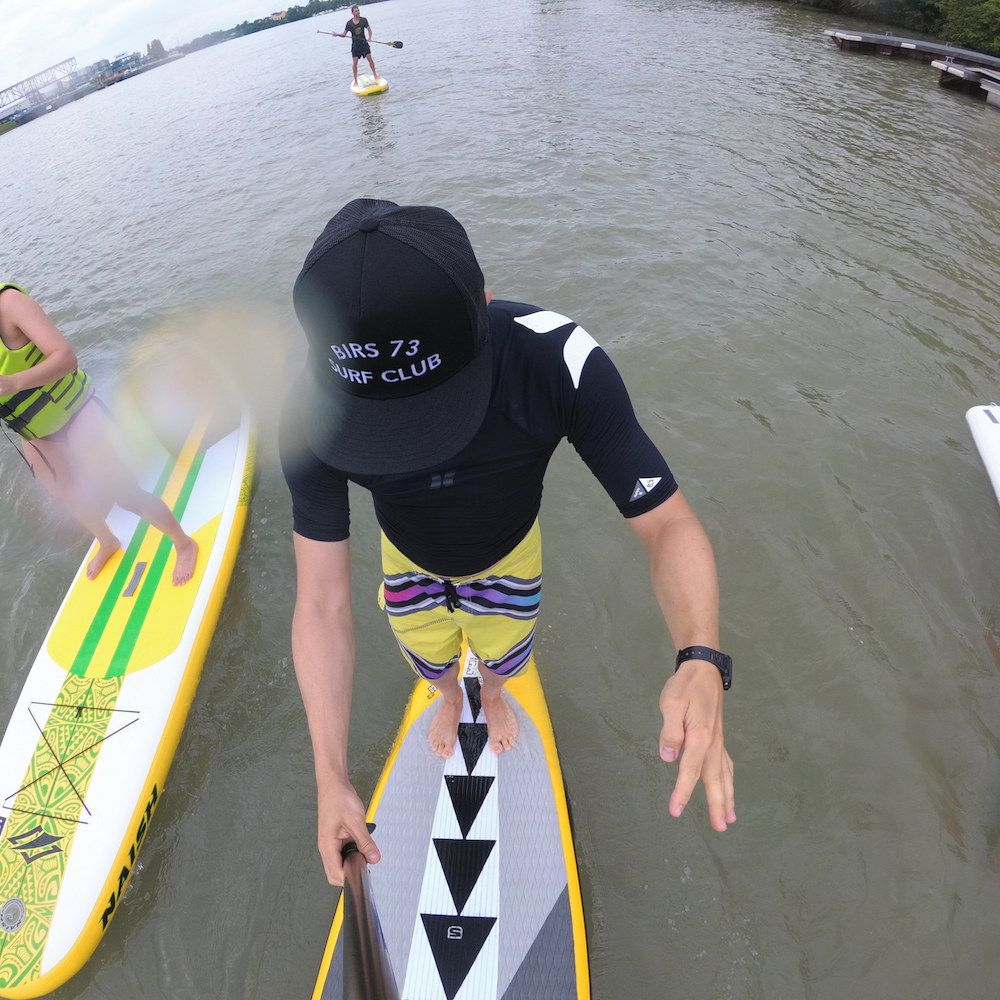 Birs 73 SUP (Stand Up Paddle) mieten in Basel