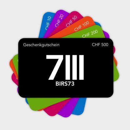 Geschenkgutscheine Birs73