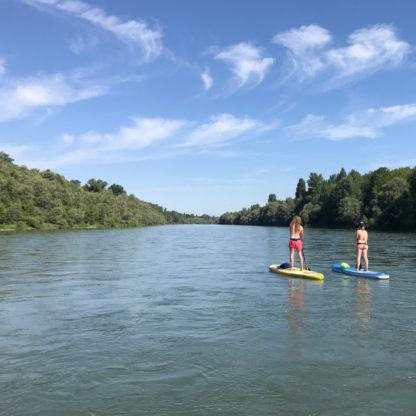 Stand Up Paddle Tour Altrhein von Basel