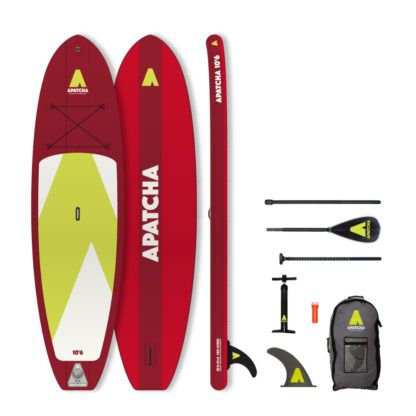 Apatcha SUP 10'6 Fire-Red Set