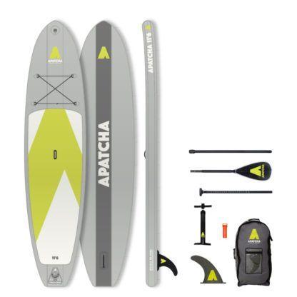 Apatcha SUP 11'6 Set Mountain-Grey
