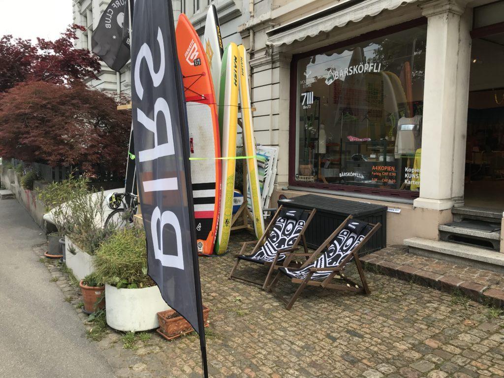 Birs73 SUP Shop und Verleih Birsfelden