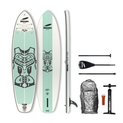 Indiana SUP 10'6 Fit Inflatable Fiberglass Paddel