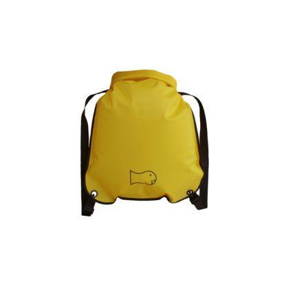 Wickelfisch Schwimmrucksack gelb