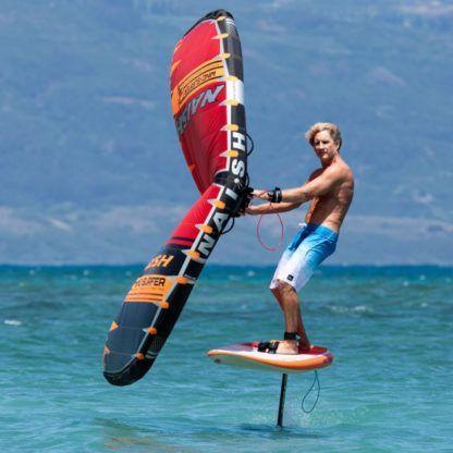 Robby Naish Wing Surfer Action